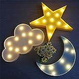 IACON Star Light Dekorative Light Star LED Dekorative Licht Nachtlicht Effektlampe Wandlampe Kinder...