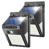 Solarlampen für Außen, Banral 50LED Solarleuchten für Außen mit Bewegungsmelder 270° Superhelle...