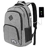 YAMTION Laptop Rucksack Business Rucksack für 15.6 Zoll Laptop Schulrucksack mit USB Ladeanschluss...