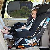 Orlegol Sonnenschutz Auto Baby, Sonnenblende Auto Baby mit UV Schutz, Universelle Auto Sonnenblende...