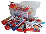 Sigkeiten  Mix Party Box mit Ferrero Kinder Spezialitten, 1er Pack (1 x 730g)