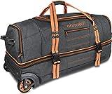 normani Reisetasche mit Rollen und groem Stauraum - mit Trolley-Funktion Farbe Orange Gre 90 Liter