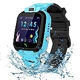 Vannico Smartwatch Kinder Wasserdicht IP68, Kinder Intelligente Uhr mit LBS SOS Kids Smart Watches...