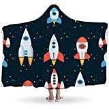 BeiBao-shop Rocket Space Globe-Sonnensystem und Planeten-Kosmos-Himmel-Nahtloser...