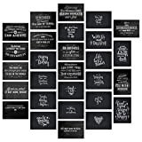 28 Postkarten mit inspirierenden und motivierenden Sprüchen die Mut machen für Postcrossing oder...