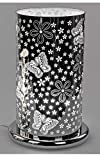Formano - Touch-Funktion Lampe, Motiv Schmetterlinge, 24cm
