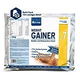 Weight Gainer No.7 Mass Gainer, Eiweiß-Supplement, Proteinpulver, Trinknahrung bei Untergewicht,...
