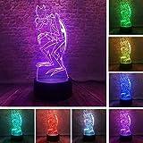 HAI LI Kreative Nachttischlampe für Kinder Pop-Animation Raum Geist - Zorak Action-Figur Modell...