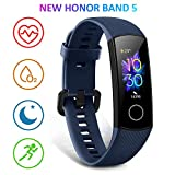 HONOR Band 5 Smartwatch Armband mit Pulsmesser,Wasserdicht IP68 , Schlafmonitor Fitness Tracker...