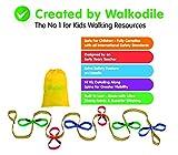 Grab & Go (für 12 Kinder) - Kinder Wandern Seil. Sicherheitsleine für Kinder. Premium Qualität...