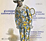 Sammartini: Sonaten für Blockflöte & b.c. Vol. 1