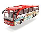 Dickie Toys Touring Bus, Reisebus, Spielzeugbus mit Friktion, Türen zum Öffnen, Maßstab: 1:43, 2...