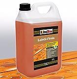 5 Liter Doppelt Gekocht NATUR Holzschutz LEINÖL- FIRNIS Holzöl Leinölfirnis Holz Möbel Lasur...