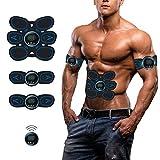 Woorea EMS Muscle Stimulator Trainer Smart Fitness Bauch Ausbildung Stimulator Körper Gestaltung...