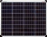 enjoy solar® Poly 50W Solarpanel Polykristallin Solarmodul Solarzelle ideal für Wohnmobil,...