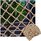 Hanfseilnetze, Foto Wanddekoration Netze, Kindersicherheitsnetze, Treppensteigschutznetze, Balkon...
