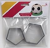 dekofee Ausstecher Fussball, Kunststoff, 18cm