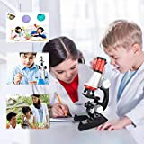 Lukame Kreativer Spaß Early Education Kids 1200X Mikroskop Mit Einstellbarem Fokus Und Spielzeugset