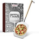 Engelhart & Söhne│Premium Pizzaschieber – Pizzaschaufel aus rostfreiem Edelstahl & Buchenholz...