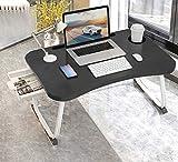 MGsten Laptop Betttisch, Faltbarer Notebooktisch Laptoptisch mit Getränkehalter, Tragbarer Tablett...