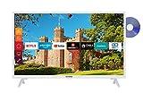 Telefunken XF32J519D-W 32 Zoll Fernseher (Smart TV inkl. Prime Video / Netflix / YouTube, Full HD,...