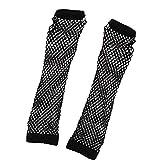 Asien Netz-Handschuhe Nylon Fingerless Netz-Handschuhe Fr 80er Party Supplies Und Kostm Zubehr 1...