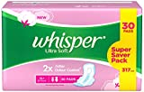 Whisper Ultra Soft XL Plus Damenbinden – 30 Stück