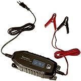 Hama Autobatterie-Ladegerät mit LCD Ladestatus-Anzeige (Vollautomatisches KFZ-Ladegerät für...
