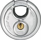 ABUS 44750 Diskus Vorhängeschloss, Bügel Aus Gehärtetem Stahl