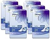 Tena Lady Extra Plus Einlagen für mittlere Blasenschwäche / Inkontinenz 6er Pack (6 x 8 Stück)