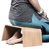 Robuste Holzbank, Geeignet für Tee-Zeremonien, Yoga, Seiza-Pose, Meditation für Anfänger, als...