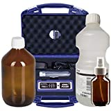 Ionic-Pulser PRO3 Silber-Generator + Wasser + Medizinflasche und Sprühflasche