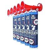 AAB Signal Gas Horn 750 ml  Laut Air Horn 106 dB(A), Trten Fuball, Lufthorn, Vuvuzela, Pressluft...