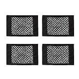 N+A 4 Stück Auto Kofferraumnetz, Lagerung Mesh, Flexibel und Geräumig zum Organisieren und...