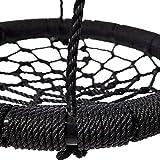 Vobajf Kinderschaukel Net Seil Vogelnestschaukel for Kinder im Freien Schaukel Netz, Seil gesponnene...