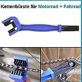Reinigungsbrste, Fahrrad-Kette & Motorrad-Kette reinigen, Kettenreinigungsgert zur regelmigen Pflege...
