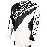 O'Neal Element Jersey RACEWEAR Trikot Schwarz Weiß Motocross Mountainbike Enduro MTB MX DH FR,...