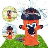 Sunshine smile Sprinkler Spielzeug für Kinder,Hydrant Sprinkler,Wasserspielzeug...