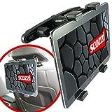 scozzi Tablet Halterung Auto Kopfstütze Rücksitz Halter (universal für 7-11' zB kompatibel mit...