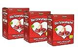 3 x 3 Liter Bio Granatapfel Direktsaft (Muttersaft), naturtrüb und ungefiltert, Bio Granatapfelsaft...