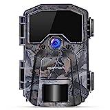 APEMAN Wildkamera 20MP 1080P Infrarot-Nachtsicht Jagdkamera mit 940nm IR LEDs, Zeitraffer,...