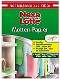 Nexa Lotte Mottenschutzpapier, Schützt effektiv bis zu 6 Monate vor Kleidermotten und...