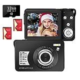 LongOu Digitalkamera 2,7 Zoll 1080P 30 Megapixel HD Fotoapparat Digitalkamera Wiederaufladbare...