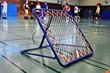 POWERSHOT Rebounder Fußball/Tchoukball Rückprallwand - 100cm x 100cm - Fussball Trainingszubehör...
