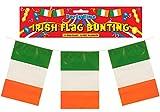 Wimpelkette, Motiv: irische Flagge, Lnge 3,6 m
