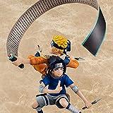 MIRECLE Anime Uzumaki Naruto Uchiha Sasuke Spielzeug Puppe Geschenk Dekoration Geschenk 15 cm