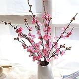 Mitlfuny Unechte Blumen, Knstliche geflschte Blumen Pflaumenblte Floral Wedding Bouquet Home Decor...