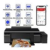 TANCEQI 3-In-1 Tintenstrahl-Multifunktionsgerät Sechsfarb-Fotodrucker(Drucken, Scannen, Kopieren,...