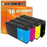 Gorilla-Ink 16 Druckerpatronen passend zu Epson T7901 – T7904 79XL 79 XL | Kompatibel mit...