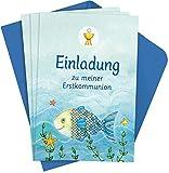 Der Wunschfisch: Einladungskarten zur Erstkommunion